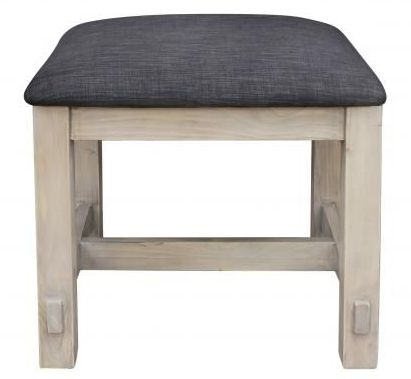 Homestead Recycled Pine Dressing Table Stool