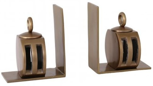 Industrial Accessories Bookends with Pulley