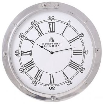 Industrial Accessories Porthole Clock
