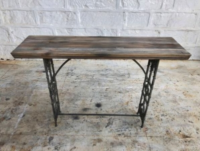 Industrial Originals Console Table - Wood and Metal