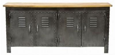 Industrial Locker Metal Sideboard