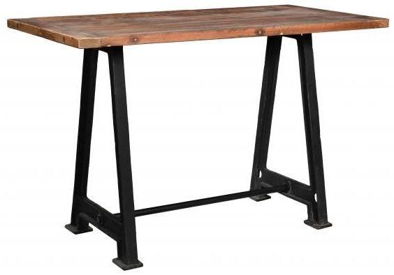 Industrial Originals Bar Table - Wood and Metal