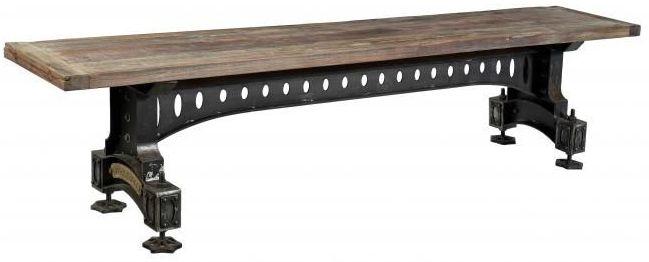 Industrial Originals Bench - Wood and Metal