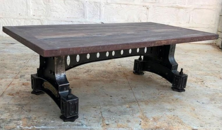 Industrial Originals Coffee Table - Wood and Metal