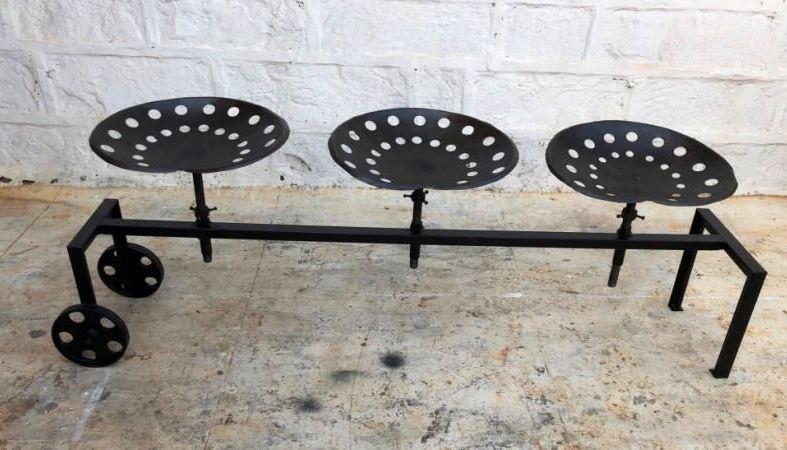Industrial Originals Metal Bench