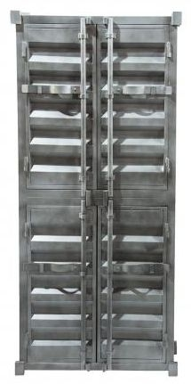 Industrial  4 Door Metal Cabinet