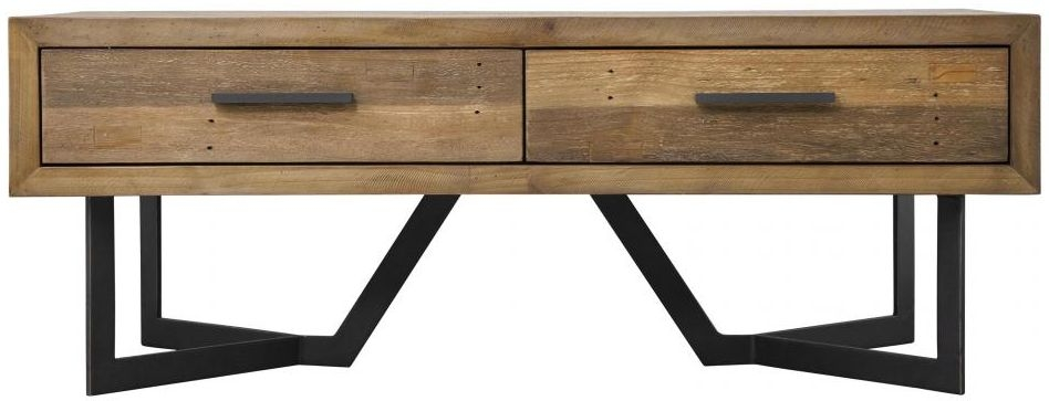 London Coffee Table - 2 Drawer