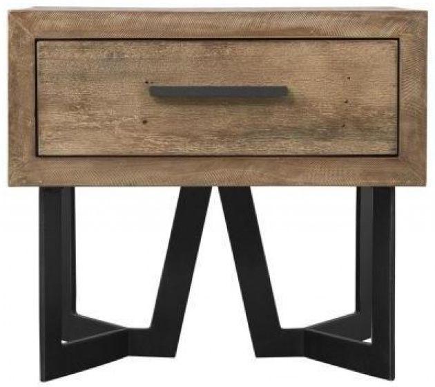 London 1 Drawer Lamp Table