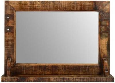 Reclaimed Teak Mirror