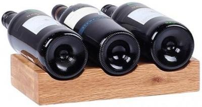 Oak Home Accessories 3 Bottle Wine Holder