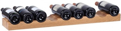 Oak Home Accessories 9 Bottle Wine Holder