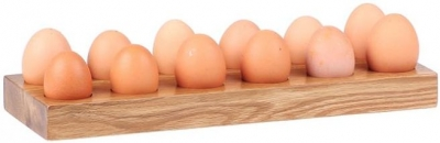 Oak Home Accessories Egg Holder For 12 Eggs