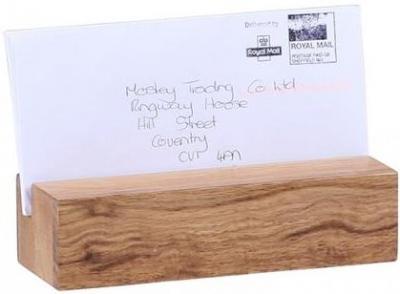 Oak Home Accessories Letter Rack