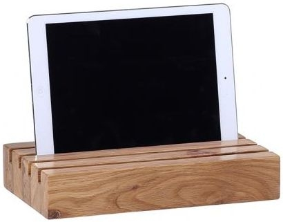Oak Home Accessories Ipad and Letters Holder