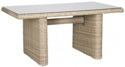 Outdoor Wicker and Rattan Table