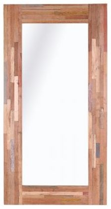 Pictures and Recycled Furniture Wooden Mirror - 210cm