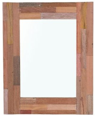 Pictures and Recycled Furniture Wooden Mirror - 80cm