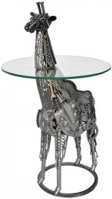 Wrought Iron Giraffe Bar Table
