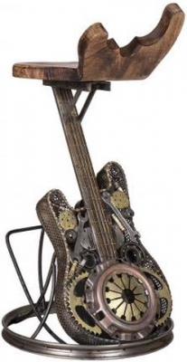 Wrought Iron Guitar Bar Chair