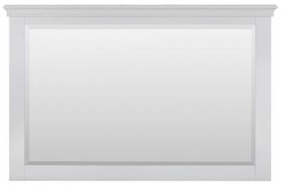 Rosa Light Grey Large Mirror - Rectangular
