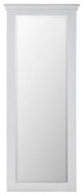 Rosa Light Grey Long Mirror - Rectangular
