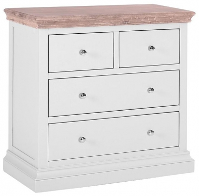 Rosa Painted 2+2 Drawer Chest