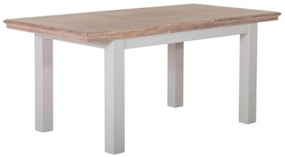 Rosa Painted Rectangular Extending Dining Table - 140cm-180cm
