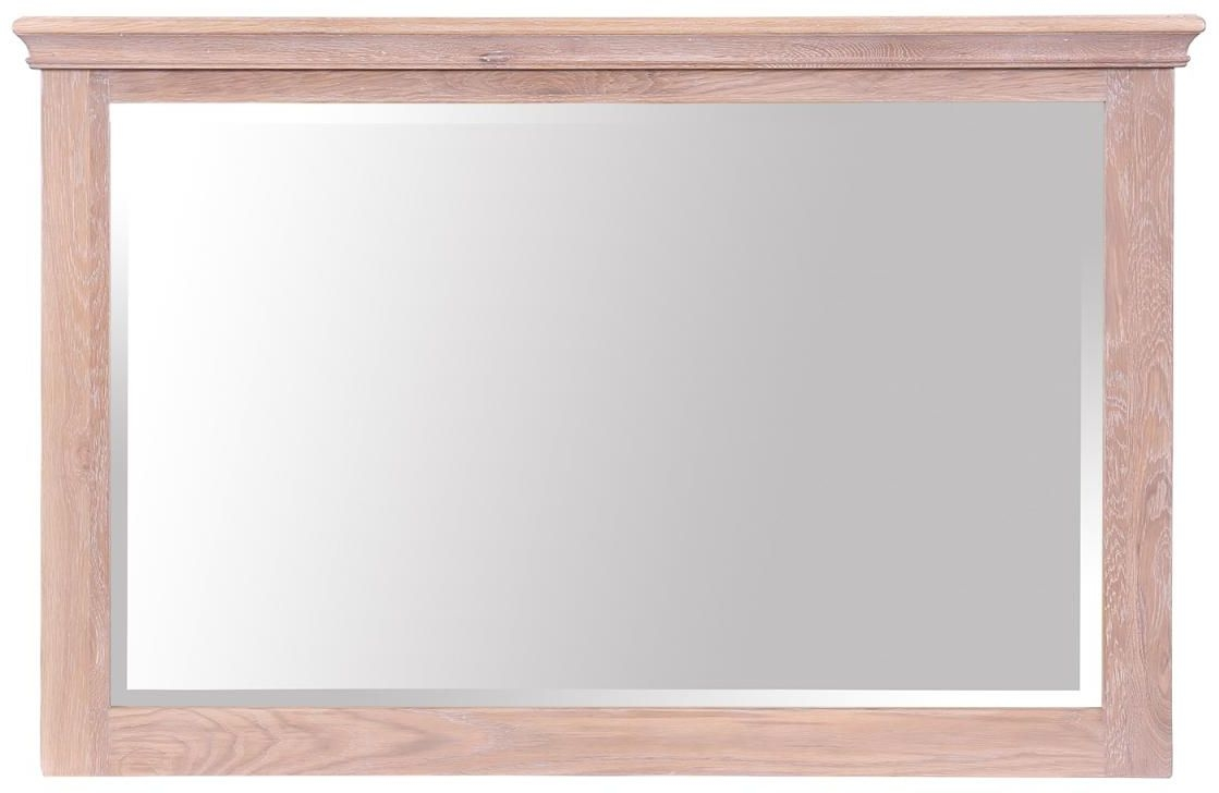 Rosa Oak Large Mirror - Rectangular