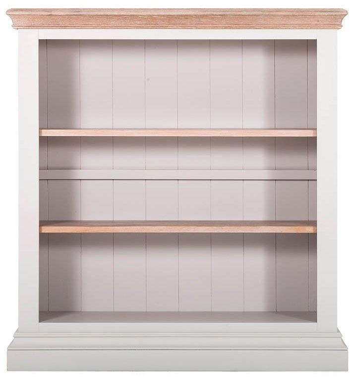 Rosa Painted Bookcase - 2 Adjustable Shelves