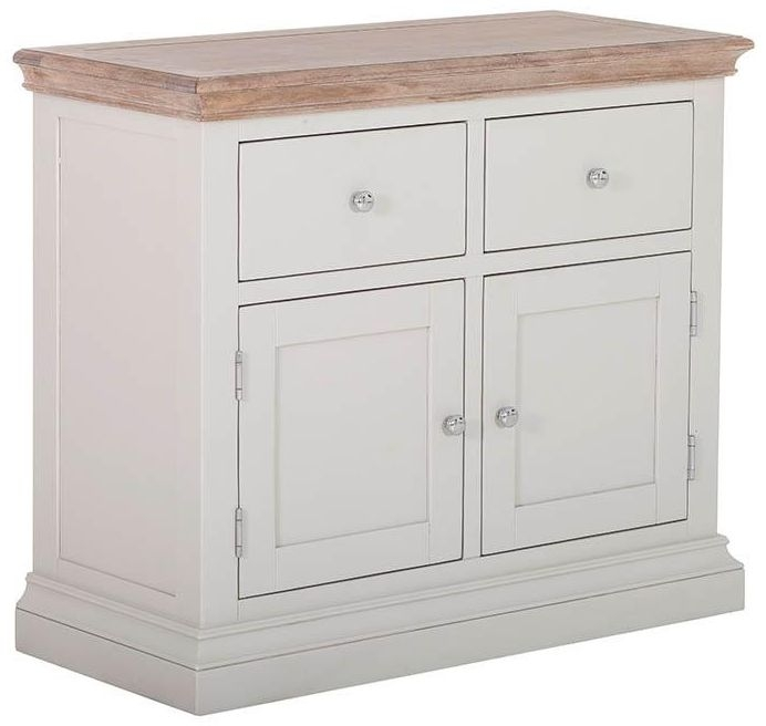 Rosa Painted 2 Door 2 Drawer Buffet Sideboard