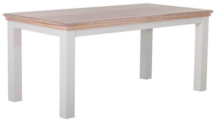 Rosa Painted Dining Table - Fixed Top