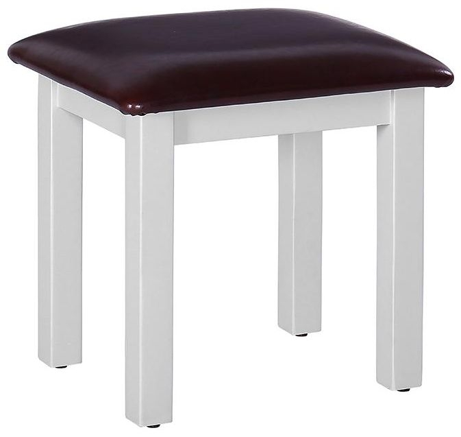 Rosa Painted Dressing Table Stool