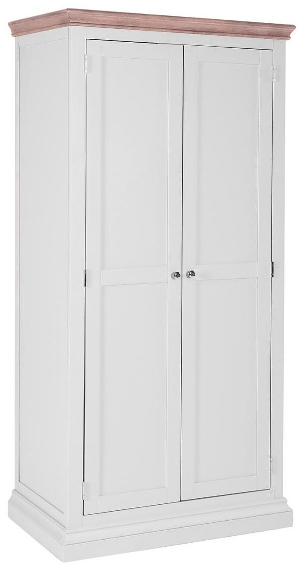 Rosa Painted 2 Door Full Hanging Double Wardrobe