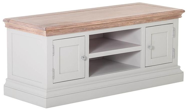 Rosa Painted TV Unit - 2 Door 1 Shelf
