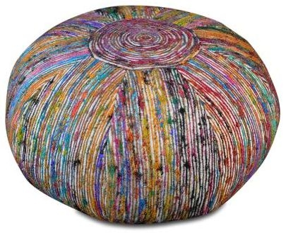 Silk Lane Pouf - TRR38