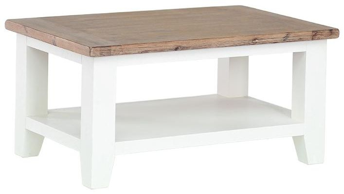 Shilton Cream Coffee Table - Rectangular