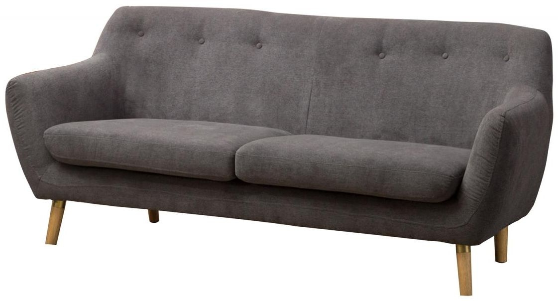 Sofa Collection Grey Upholstered Sofa - S6069B63 D183