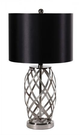 Woven Metal Table Lamp