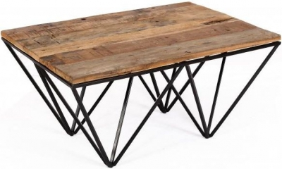 The Cosgrove Collection Coffee Table with Geometric Frame