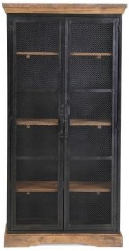 The Cosgrove Collection Tall 2 Door Glazed Cabinet