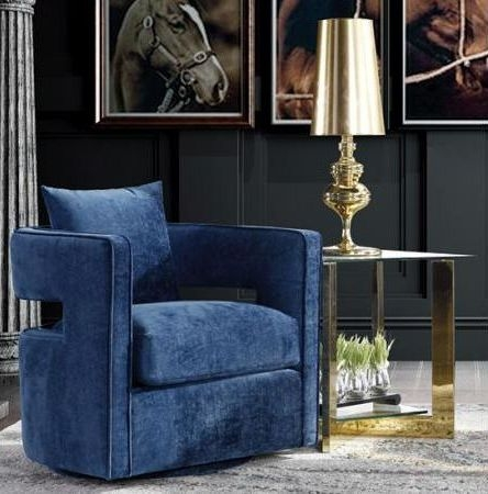 Turner Lux Fabric Armchair