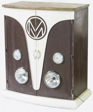 VW 2 Door Cabinet with Lights