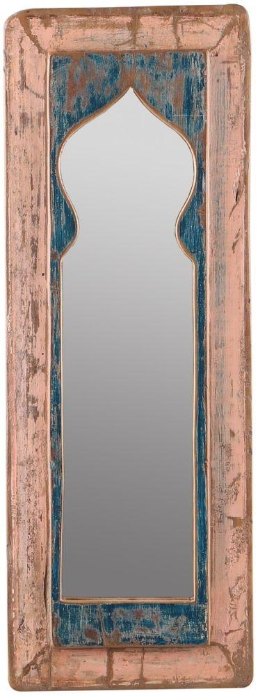Upcycled Door Panel Wall Mirror