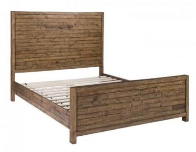 Urban Loft Reclaimed Pine Industrial Bed