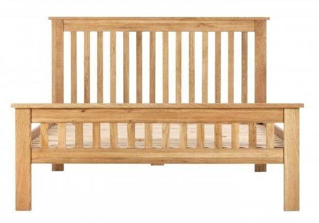 Vancouver Compact Oak Bed