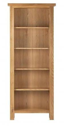 Vancouver Compact Oak Bookcase