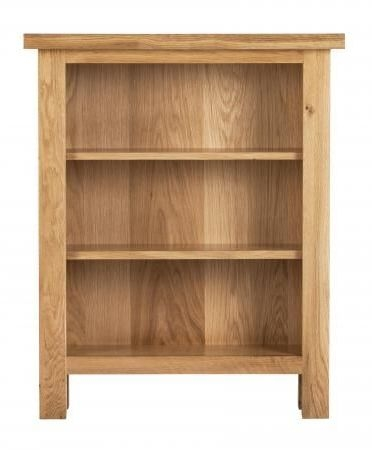 Vancouver Compact Oak Low Bookcase