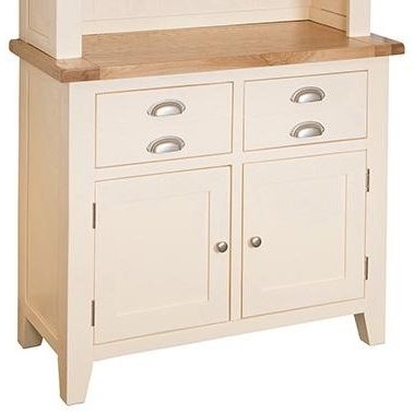 Vancouver Expressions Cornish Cream Sideboard - Small Narrow 2 Door 2 Drawer
