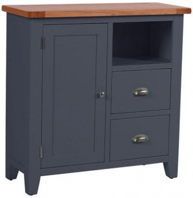 Vancouver Expressions Down Pipe Grey Organiser Cabinet - 2 Drawer 1 Door
