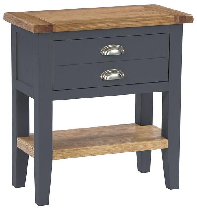 Vancouver Expressions Down Pipe Grey Console Table   1 Drawer
